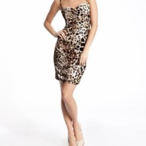 Guess by Marciano Leopard Print Dress, Size 6